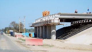 Строительство подходов к мосту через Керченский пролив