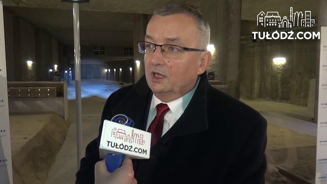 Minister Adamczyk dla TuŁódź.com o podpisaniu umowy na budowę tunelu w Łodzi