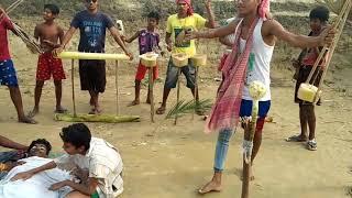 Ami hele dule jabo sashan ghate