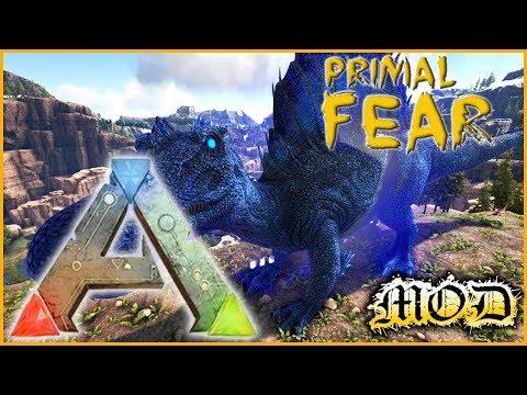 NOXIOUS YUTYRANNUS & ALPHA SPINO - ARK Mods Primal Fear FR 06
