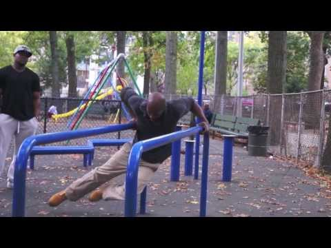 Dwight Norton - Harlem Seals - Marcus Garvey Park Workout
