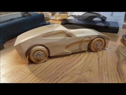 Wood Muscle Car Build - An Easy CNC Project