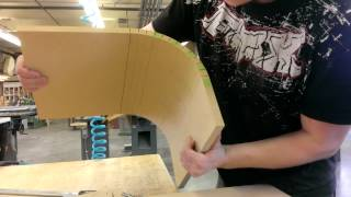 Quick MDF Kerfing Tutorial