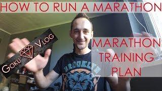 How to Run a Marathon - Marathon Training Plan - Goku Vlog #1