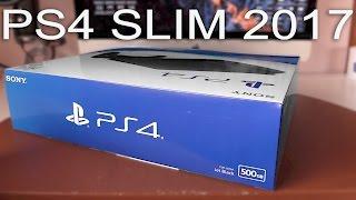 PS4 Slim 2017 - Contenido de la caja