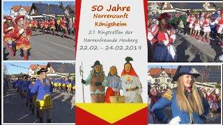 Narrentreffen Königsheim am 24. Februar 2019