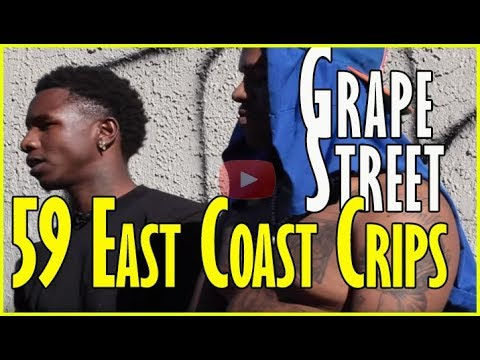 59 ECC on prison time, Grape Street Crip beef, and rappers from East Coast Crips (pt.1of2)