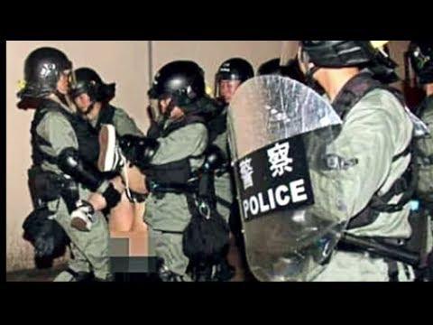 香港警察 若い女性に性暴力。市民の怒り噴出