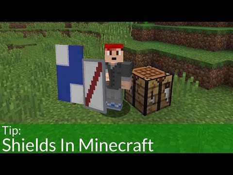 How To Make Shields In Minecraft