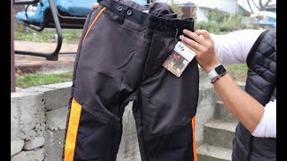 Обзор штанов STIHL за 150$
