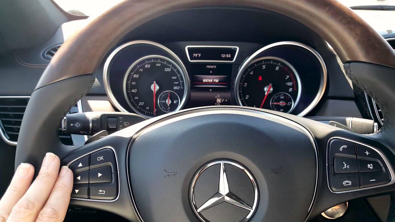 Mercedes benz multi function steering wheel radio short for Mercedes benz steering wheel