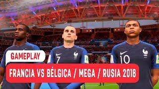 Gameplay / Francia vs Bélgica / Mega