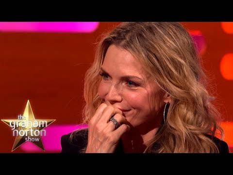 Michelle Pfeiffer Reacts to Being Mentioned in Uptown Funk  The Graham Norton