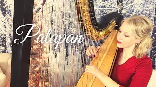 """Patapan"" played on the harp."