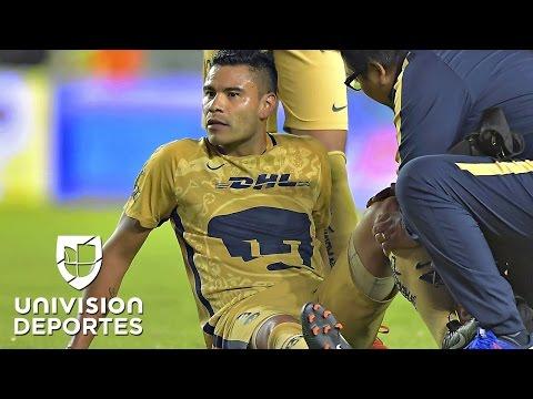 Pablo Barrera es baja para todo el torneo en Pumas debido a una lesión en la rodilla