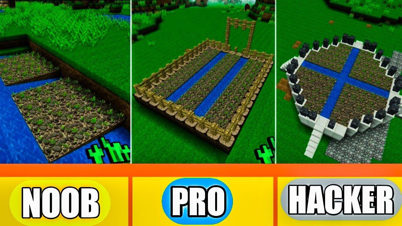 Realmcraft NOOB vs PRO vs HACKER - FARMING CHALLENGE in Realmcraft / Animation(500 sub special)