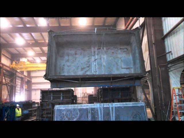 Stripping a 6000 Gallon Tank Base at WIESER CONCRETE