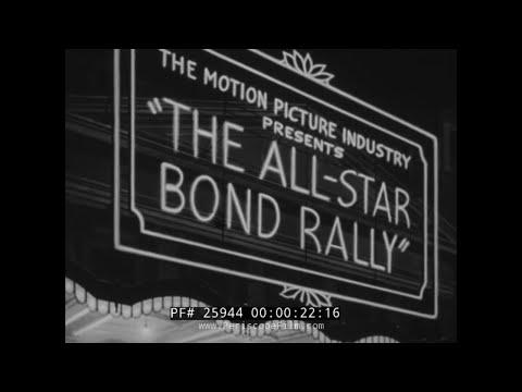 WWII ALL STAR BOND RALLY w/ BOB HOPE, BETTY GRABLE, HARPO MARX 25944