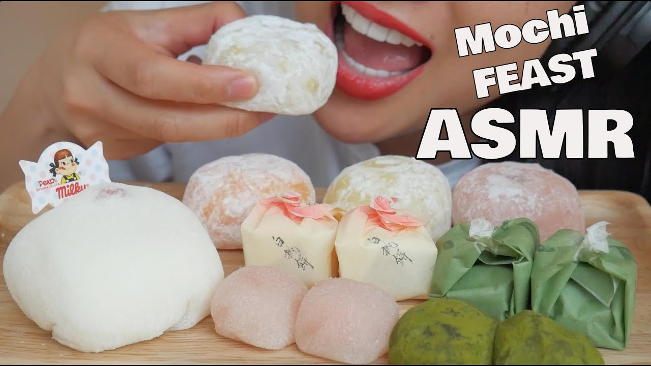 Asmr Snowball Mochi Eating Sounds No Talking Sas Asmr Youtube Mix well (add food colouring here if you want). asmr snowball mochi eating sounds no