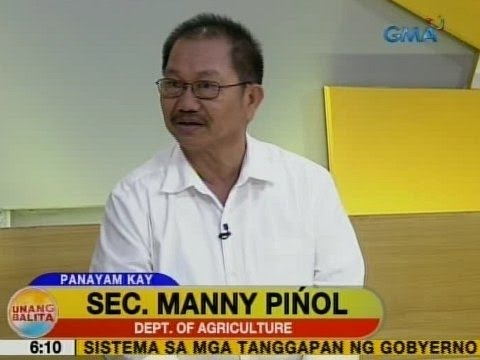 UB: Panayam kay Department of Agriculture Sec. Manny Piñol