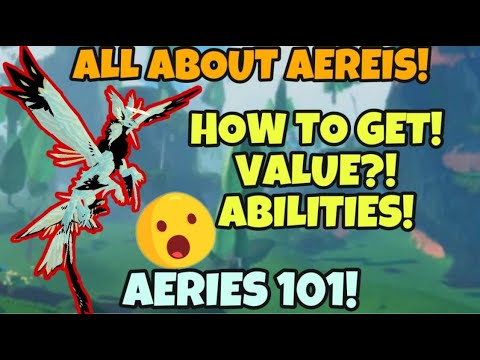 Download AEREIS 101! How to get it? Trading Value? Abilites!? Creatures of Sonaria!