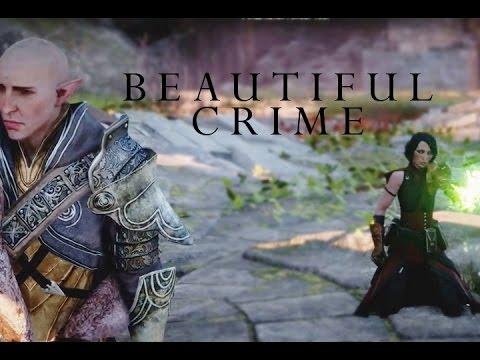Beautiful Crime ~ Solas/Lavellan  (Dragon Age: Inquisition)