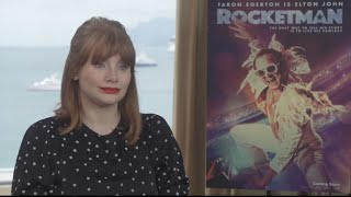 Cannes 2019: Bryce Dallas Howard on playing Elton John's mum