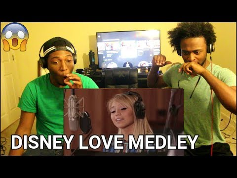 Disney Love Medley (feat. Kirstin Maldonado & Jeremy Michael Lewis) (REACTION)