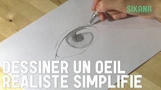 comment dessiner yeux