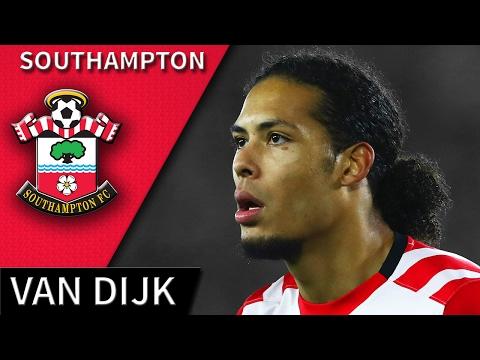 Virgil van Dijk • Southampton • Magic Defensive Skills & Goals • HD 720p