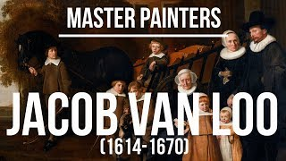 Jacob van Loo (1614-1670) A collection of paintings 4K Ultra HD