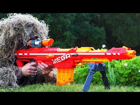 Nerf War: Snipers Vs Thieves Part 1