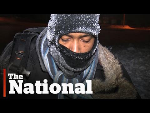 Shivering Refugee Discovered