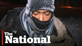 Shivering Refugee Discovered Crossing into Canada
