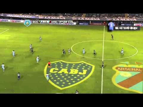 Juan Román Riquelme | El Partido del 10 vs. Arsenal (Fecha 16 - Torneo Final 2014)