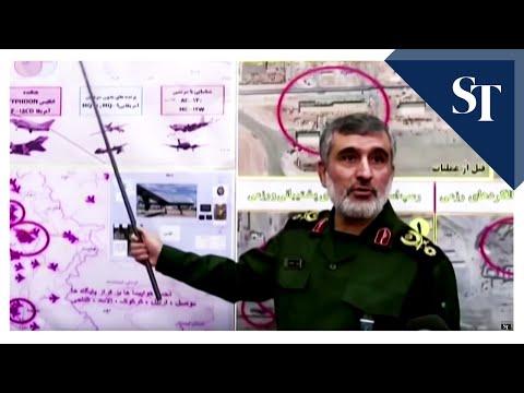 US hits Iran