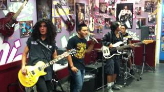 "The Frix ""Heartbreaker"" by Led Zeppelin at Archie's Ice Cream in Tustin,Ca - 5/2/13 Thumbnail"