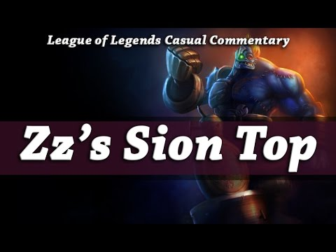 League of Legends  - Hextech Sion Top Lane | Casual Commentary