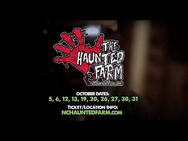 2018 Haunted Farm Schedule | Voted BEST Haunted House in NC!