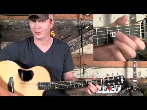 How to Play Basic Bluegrass Guitar Rhythm, Part 1