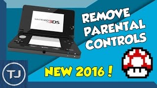 Remove 3DS Parental Controls (Version 11.6.0) WORKS IN 2018!
