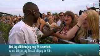 Panetoz-Jag vill vara din Margareta-Allsång på Skansen 2014.
