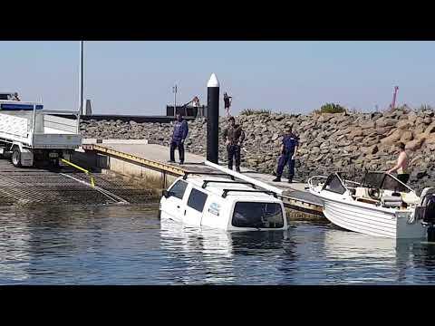 Boat Ramp Fail. Sydney Botany