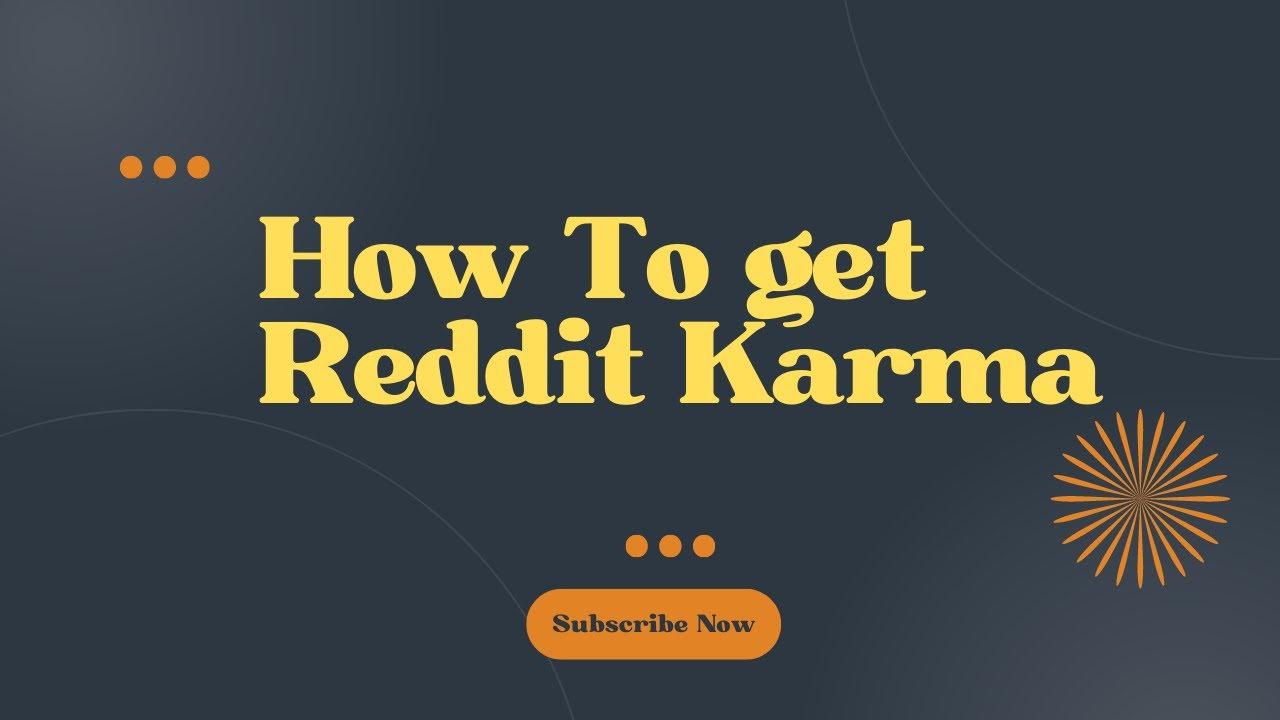 Reddit karma Hack for 2019 (AND BEYOND!)