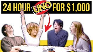 Download Epic 24 HOUR UNO Game For $1000! Mp3 and Videos