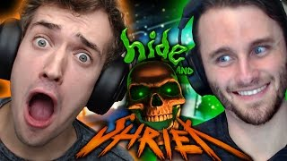 SSUNDEE JUMPSCARES ME!! - HIDE AND SHRIEK!!