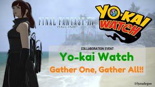 Yo-Kai Watch: Gather One, Gather All! - FFXIV: How to obtain all 13 Yo-kai minions?