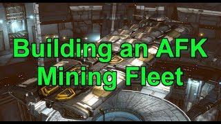 Building an AFK Mining Fleet - EVE Online Live