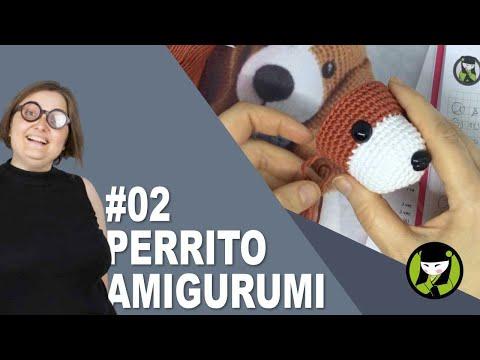 PERRITO AMIGURUMI 2 tutorial paso a paso