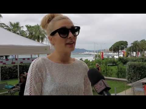Aliette Opheim i Cannes